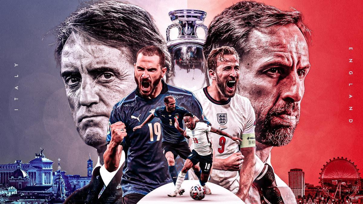 Ý vs Anh - Trận Chung Kết Lịch Sử