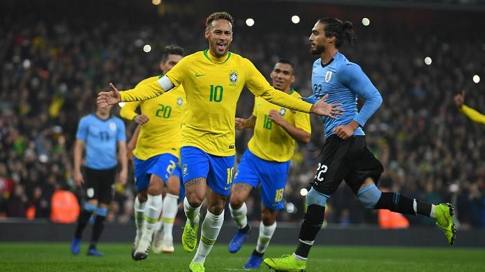 Brazil vs Uruguay, 07h30 ngày 15/10