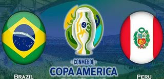 Brazil vs Peru - Bán kết Copa America