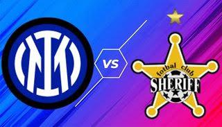 Inter Milan vs Sheriff Tiraspol - Vòng bảng · Bảng D · Ngày thi đấu 3/6 UEFA Champions League 21/22