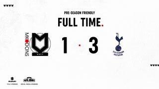 Milton Keynes Dons vs Tottenham