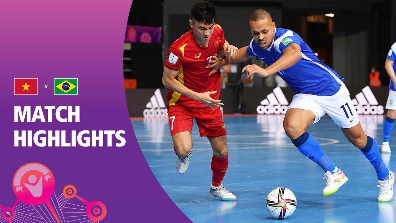 VIỆT NAM VS BRAZIL - Bảng D FIFA Futsal World Cup Lithuania 2021