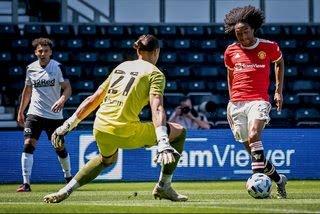 Derby County vs Manchester Utd