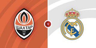 Shakhtar Donetsk vs Real Madrid - Vòng bảng · Bảng D · Ngày thi đấu 3/6 UEFA Champions League 21/22