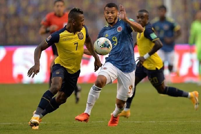 Colombia vs Ecuador, 04h00 ngày 15/10