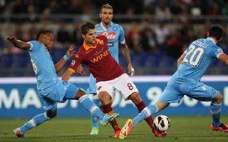 AS Roma vs Napoli, 22h59 ngày 24/10