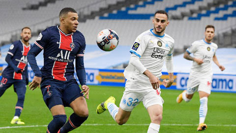 Marseille vs PSG, 01h45 ngày 25/10