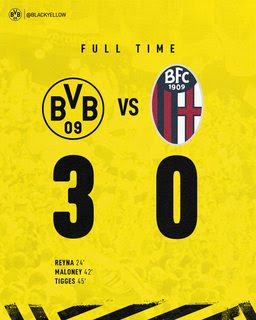 Dortmund vs Bologna