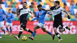 Udinese vs Napoli, 01h45 ngày 21/09