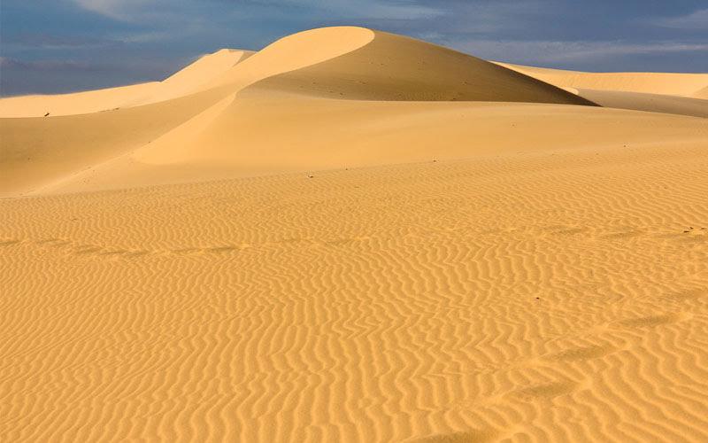 Nằm mơ thấy cát vàng