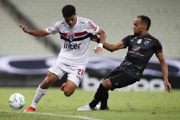 Sao Paulo vs Ceara, 05h00 ngày 15/10