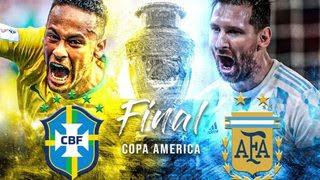 Argentina vs Brazil - Chung kết Copa America 2021
