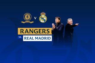 Rangers vs Real Madrid