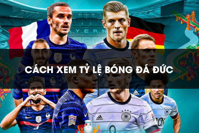 Hướng dẫn cách xem tỷ lệ bóng đá Đức chuẩn, hiệu quả 100%